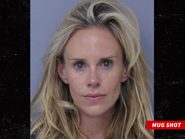 Golf star's wife arrested on domestic violence charges
