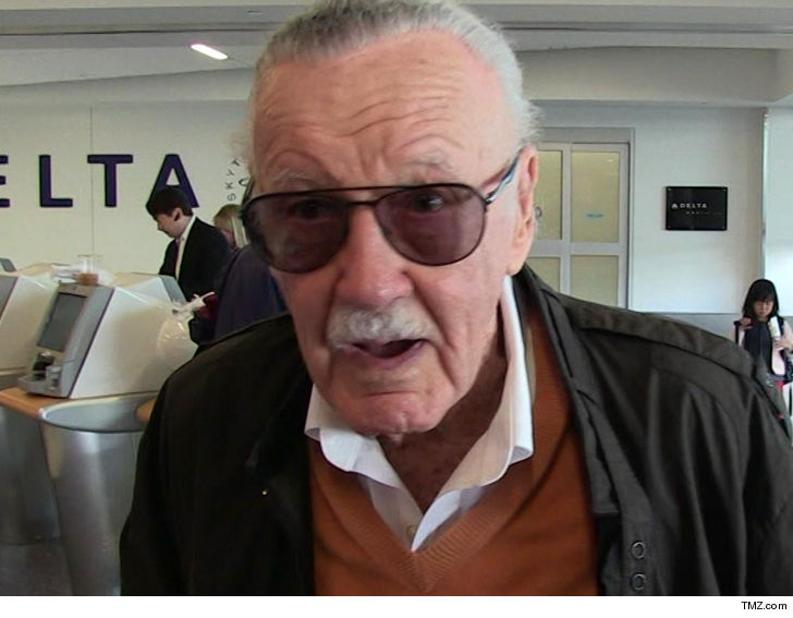 Stan Lee Files Billion-Dollar Suit Against Pow! Entertainment