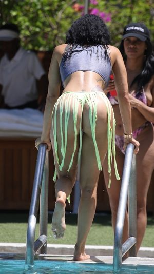 Draya Michele in 'Ultimate' Thong Bikini