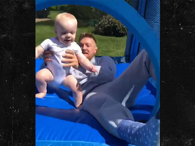 Conor McGregor Buys Baller Bounce House For Baby