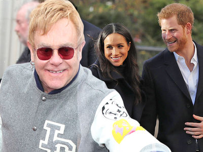 Elton John To Perform at Royal Wedding for Prince Harry and Meghan Markle