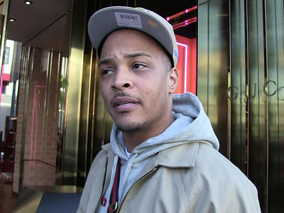 T.I. Says Security Guard Was Sound Asleep, Tiny Even Called to Give Thumbs-Up