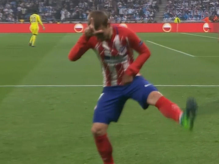 Antoine Griezmann Busts Out Fortnite Celebration After Europa League Goal