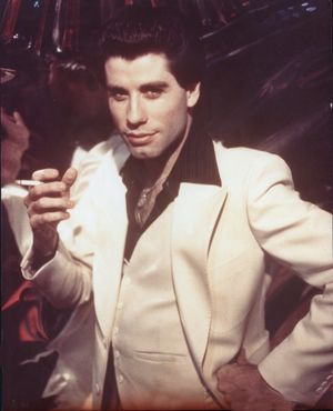 John Travolta's  'Saturday Night Fever' Photos