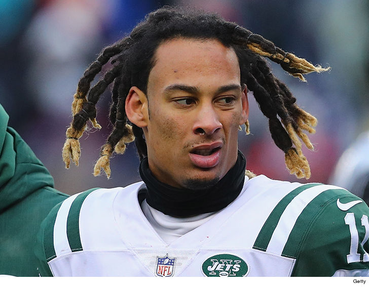 Felony charge dropped against Jets' Robby Anderson for allegedly pushing cop