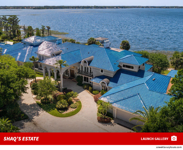 Shaquille o 39 neal selling massive florida 39 shaq apulco for Shaquille o neal s home