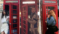 Stars in British Booths ... London's Calling!
