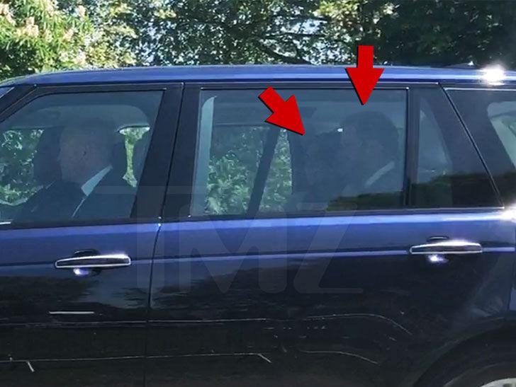 Prince Harry & Meghan Markle Arrive at Windsor Castle for Royal Wedding Rehearsal   TMZ.com