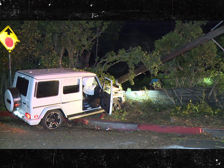 Mac Miller Dui Accident Scene Video Tmzcom