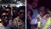Lamar Jackson Hits Hollywood Club Scene with Lil Uzi Vert and Calvin Ridley