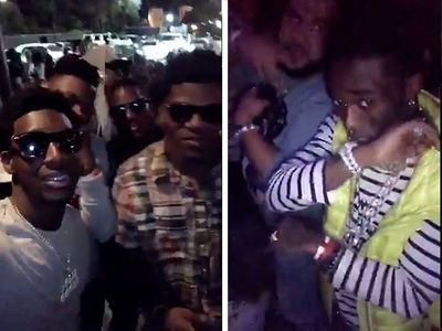 Lamar Jackson Hits Hollywood Club Scene with Lil Uzi Vert and Calvin Ridley