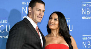 Watch Nikki Bella Make John Cena Incredibly Uncomfortable With Talk of Babies