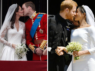 How Prince Harry's Royal Wedding Compared to Prince William's -- Side-by-Side Comparisons!