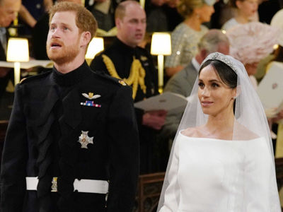 Two of Prince Harry's EXES Attended the Royal Wedding -- Wait'll You See What They Wore!