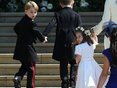 Every Photo of Prince George & Princess Charlotte You NEED to See from the Royal Wedding