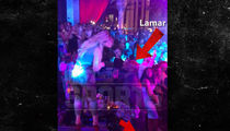 Lamar Odom Looks Carefree Partying at Vegas Nightclub