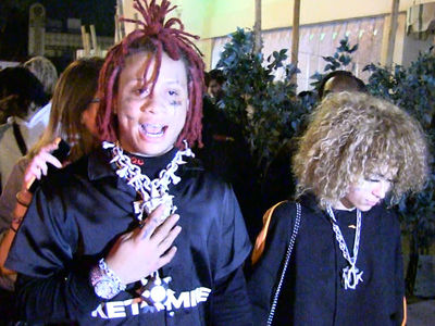 Rapper Trippie Redd Talks Trump, Lil Tay and Tekashi69 Before Security Confrontation