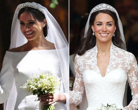 Meghan Markle (36) vs. Kate Middleton (36) -- Royal Bride Edition
