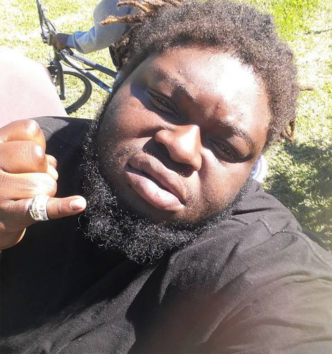 Coronji Calhoun -- now 27 years old -- resurfaced on social media looking baller.
