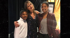 Kobe Bryant & Family Shake It Off At Taylor…