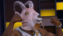 Shannon Sharpe Breaks Out Goat Head, Biceps for LeBron James