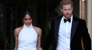 Prince Harry Refers to Meghan Markle as 'His Bride' in Touching Reception Speech (Exclusive)