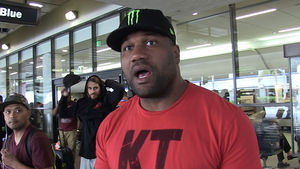 Rampage Jackson Blasts 50 Cent, You're Not a Real Fighter!