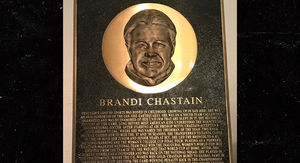 Arby's Gives Brandi Chastain a Saucy Hall of Fame Plaque Redo