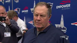 Bill Belichick Shades Tom Brady, 'Not Gonna Talk About Guys Who Aren't Here'
