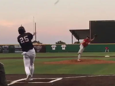 53-Year-Old Rafael Palmeiro Hits Monster HR In Minor League Game