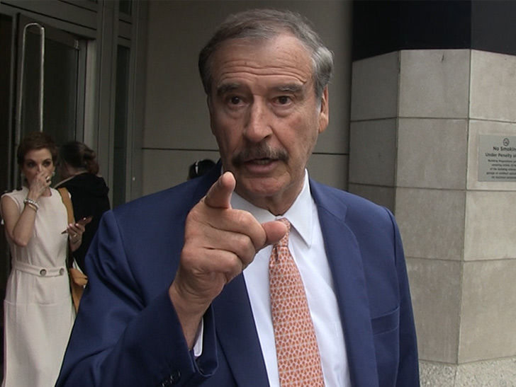 Vicente Fox Shades Obamas for Netflix Deal and Focusing on Money