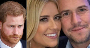 Prince Harry received a text from Christina El Moussa's boyfriend asking for advice on 'dating a…