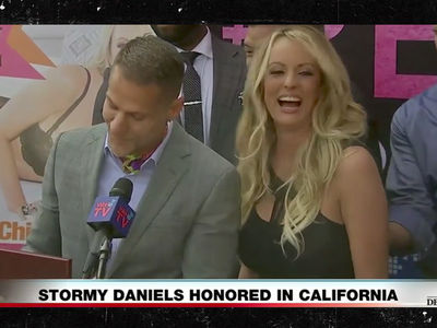 'Stormy Daniels Day' is Official in West Hollywood After She Gets Key to City