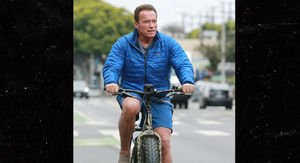 Arnold Schwarzenegger Out for Bike Ride 2 Months After Heart Surgery