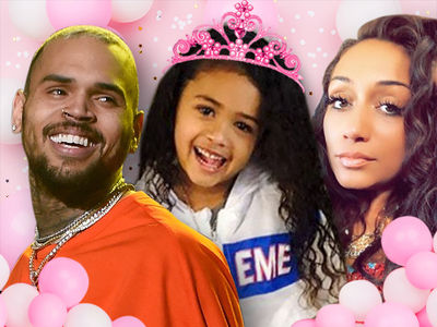 Chris Brown And Baby Mama Throwing $30k 4th Birthday Party For Royalty