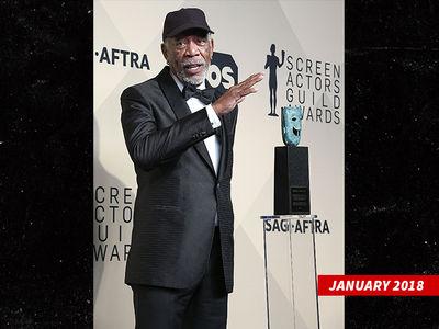 Morgan Freeman Could Lose Life Achievement Award, SAG Reviewing Matter
