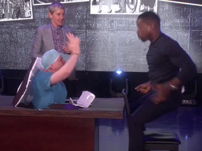 Ellen SCARES 'This Is Us' Star Sterling K. Brown Out of His Seat -- & More of Her Best…