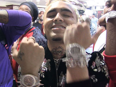 Lil Pump Buys His Entire Crew Diamond Watches