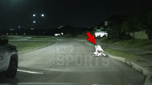 Terrance Williams Falls Over Drunk On Bike