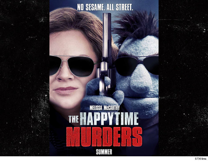 'Sesame Street' sues over Melissa McCarthy puppet movie, 'The Happytime Murders'