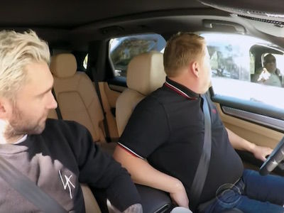 Police PULL OVER James Corden and Adam Levine During 'Carpool Karaoke'