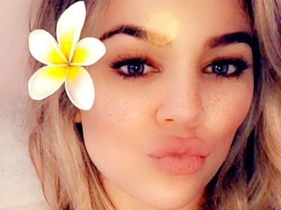 OMG Wait'll You See New Photo of True -- and Khloe's CRYPTIC Posts About Love!