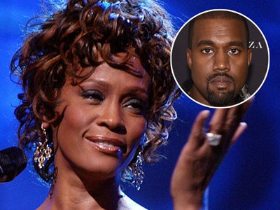 Whitney Houston's Family Member Rips Kanye West for 'Disgusting' Pusha T Album Cover