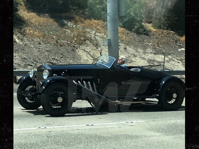 Jay Leno Opens the 'Garage' and Takes a Classic Car for a Spin