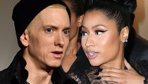 Eminem Teases Crowd with Nicki Minaj Relationship Jokes