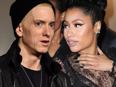Eminem Teases Crowd with Nicki Minaj Relationship Jokes