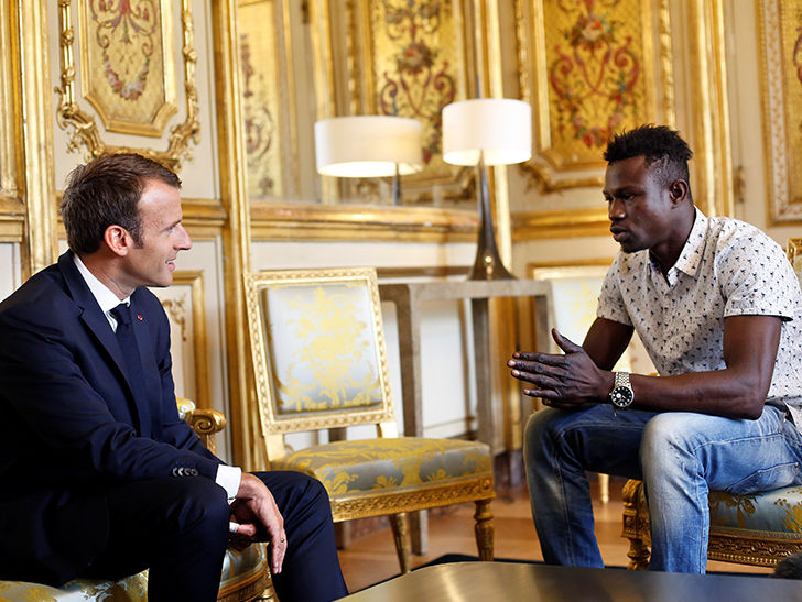 Hero 'Spiderman' Granted French Citizenship After Amazing Child Rescue