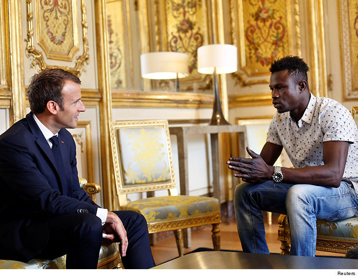 Hero rescuer to become French citizen