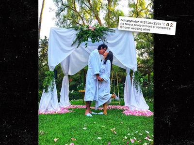 Tommy Lee and Brittany Furlan Not Married Despite 'Wedding' Pic