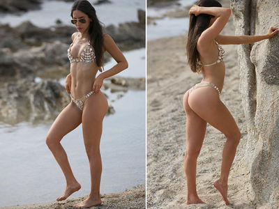 Jen Selter All Greece'd Up In New Bikini Butt Pics